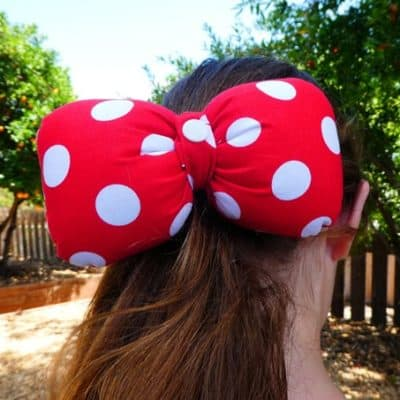 Minnie Mouse Hair Bow GIVEAWAY!