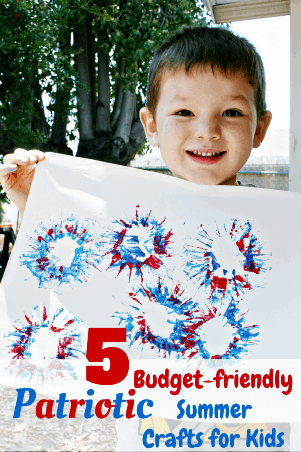 5 Budget-friendly Patriotic Summer Crafts for Kids