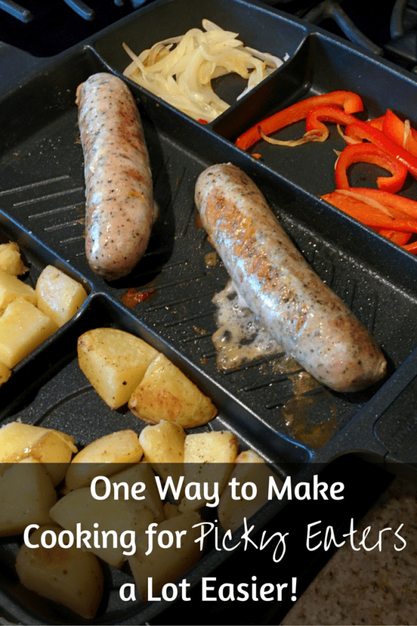 One Way to Make Cooking for Picky Eaters a Lot Easier (and a $20 off code to use on MasterPan!)