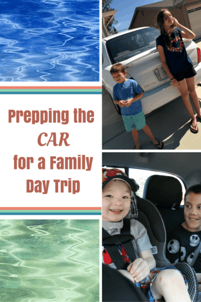Prepping the Car for a Family Day Trip