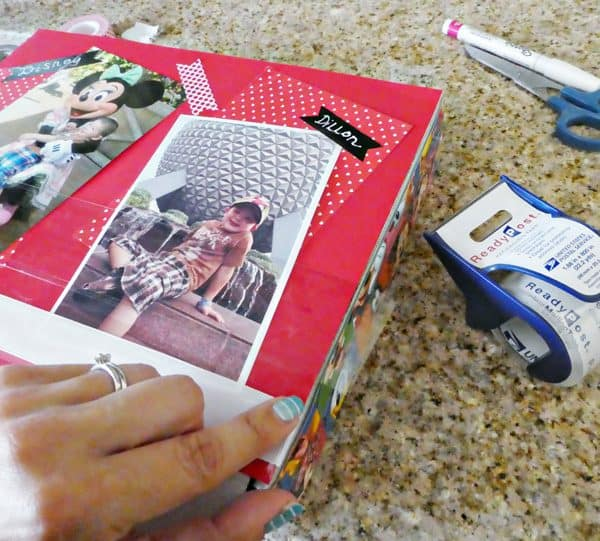Back-To-School DIY Disney-Style Storage Box