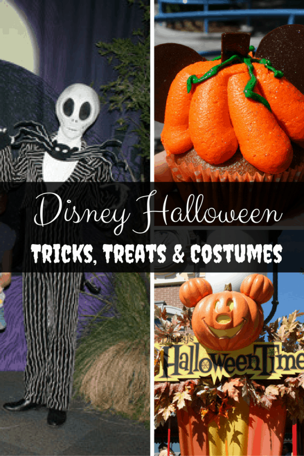 Round-up of Disney Halloween costumes, treats and decorations.