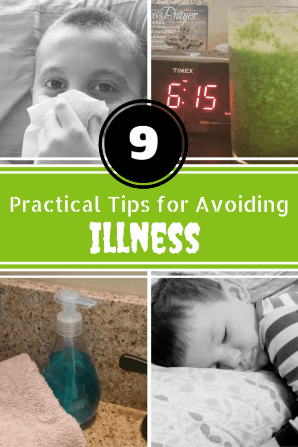 9 Practical Tips to Avoiding Illness This Winter #ad