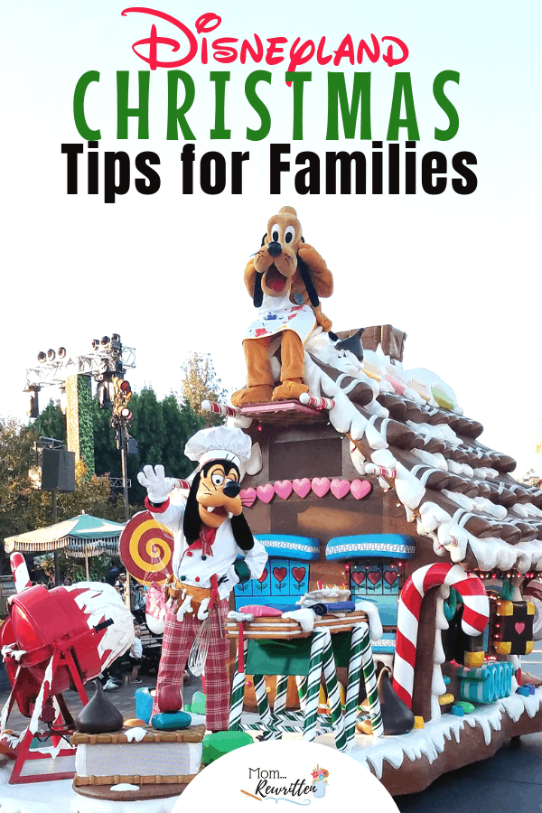 Celebrating Christmas at the Disneyland Resort is simply magical! Here are the top tips on maximizing your vacation time with Christmas at Disneyland. This is the ultimate Disney guide on seasonal offerings including Christmas ride overlays, holiday food to eat, parades and shows and the beautiful decorations. There are family travel tips for meeting Santa, using MaxPass, Disneyland app and the time-saving Mobile Ordering. #Disneyland #Christmas | Disneyland Christmas | Holidays at Disneyland