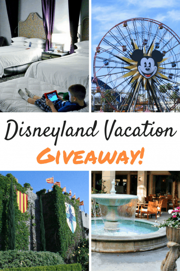 Disneyland Vacation Giveaway at the Anaheim Majestic Garden Hotel