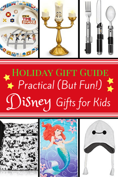 Holiday Gift Guide: Practical (But Fun!) Disney Gifts for Kids