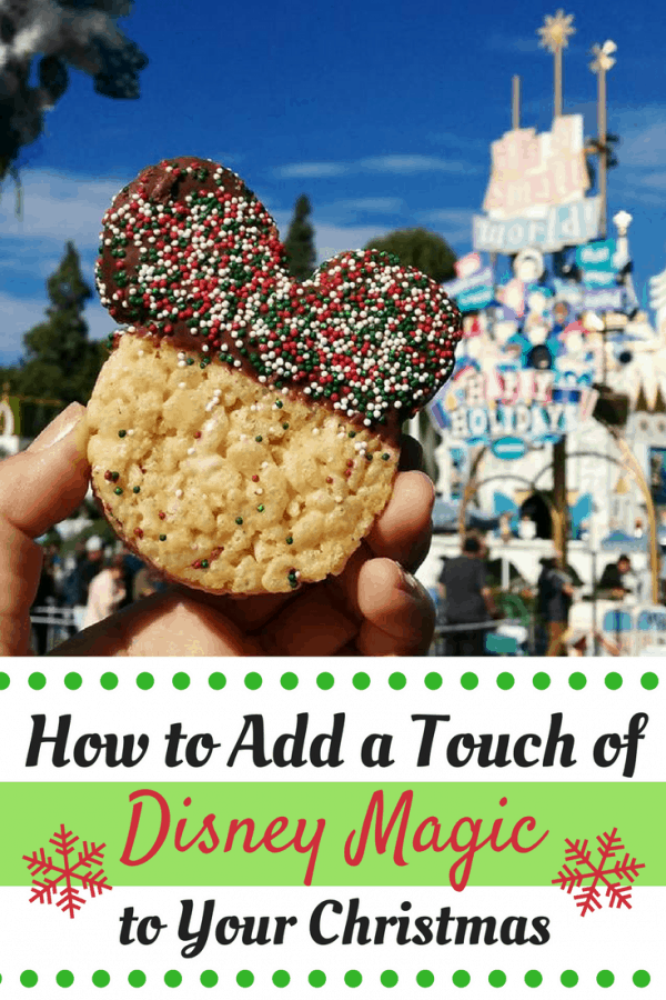 How to Add a Touch of Disney Magic to Your Christmas