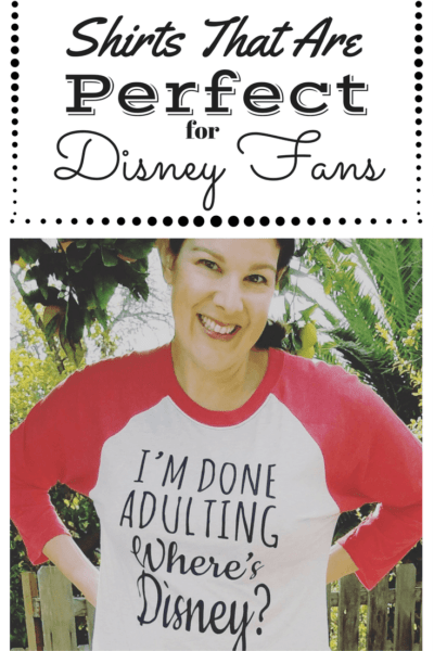 The Perfect Shirts for Disney Fans (Plus a Giveaway!)