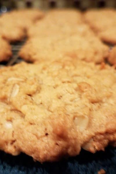 Cookies for Santa – Oatmeal Peanut Butter Cookies Recipe