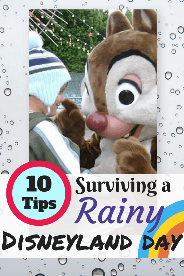 Check out my Top 10 Tips for Surviving a Disneyland Rainy Day!