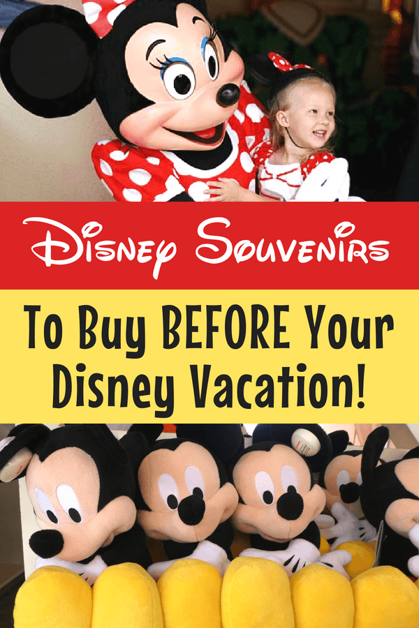 Why should you buy Disney souvenirs before your vacation? Find out what you should buy and the reasons why before going on your next Disneyland or Disney World trip. #Disney #FamilyVacation #Disneyland #DisneyWorld #BudgetTravel #TravelwithKids #Souvenirs