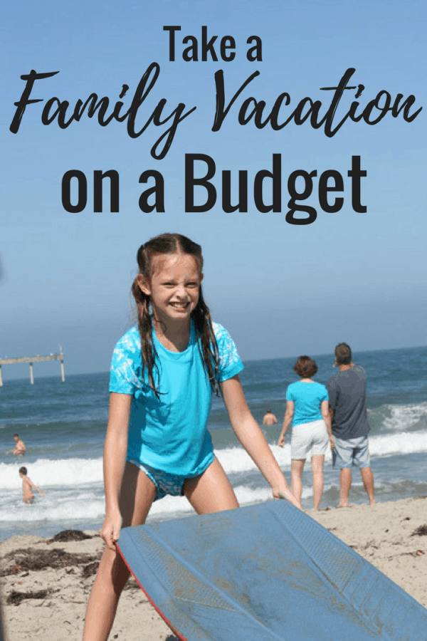Think you can't afford a trip? Here are 7 tips on how to take that family vacation on a budget, without crazy sacrifice or drastic penny-pinching!
