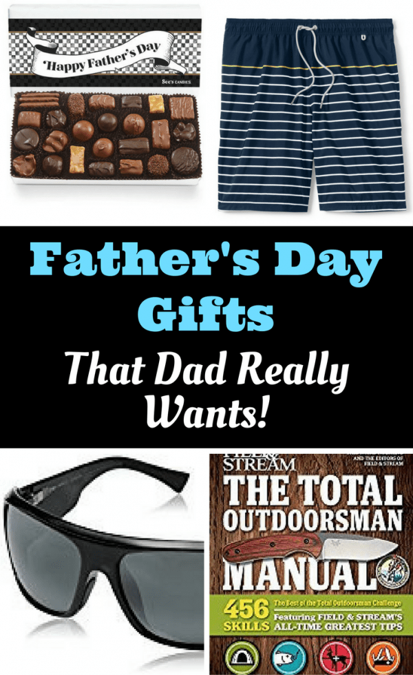 What are the gifts for Father's Day that Dads really want to receive?