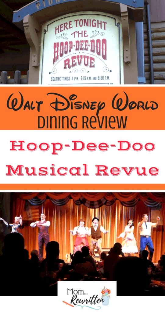Read my honest review of the Hoop-Dee-Doo Musical Revue dinner show at Walt Disney World in Orlando. Is this longstanding show worth the cost and is this Disney World restaurant appropriate for everyone in the family?