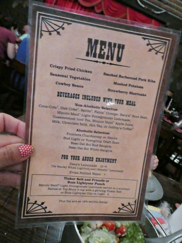 Disney World Dining Hoop Dee Doo Musical Revue