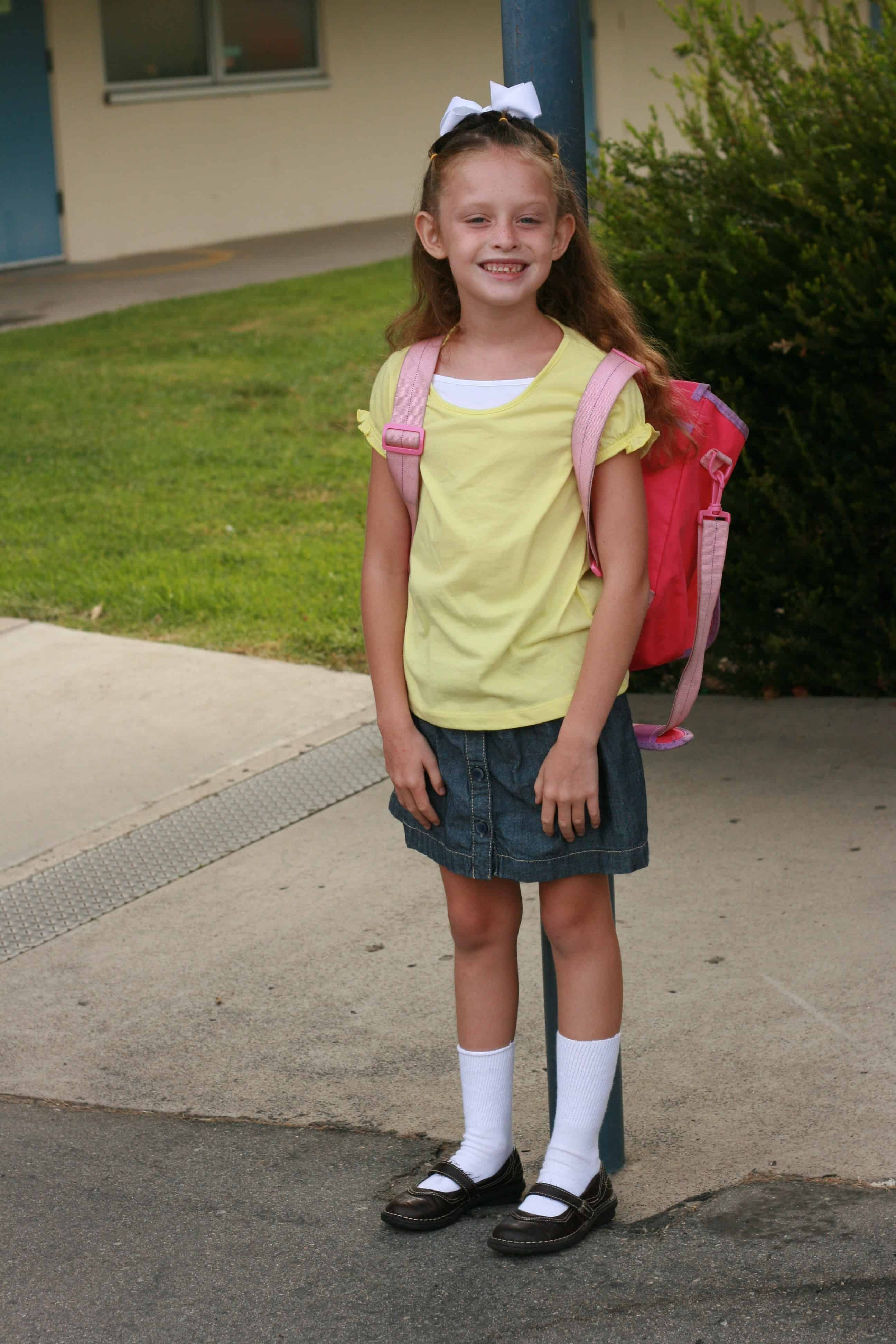Kid S Back To School Clothing Hacks And Budget Tips
