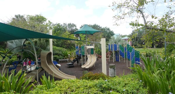 Disney World playgrounds and water play structures at the Walt Disney World Resort hotels in Orlando are another way for kids to play!