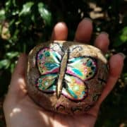 Want to start a painted rocks project in your community? See how painted rocks have fostered creativity and made my kids more active!