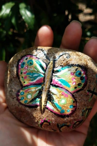 Painted Rocks Project – How Rocks Get My Kids Active in Community