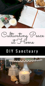 #ad Cultivate peace at home with a DIY portable home sanctuary that contains everything you need for relaxing moments.