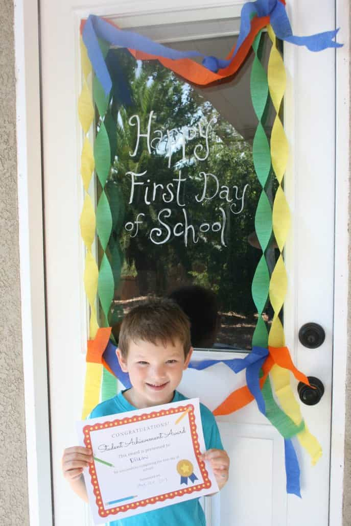 Make the first day of school extra special, from breakfast to an after-school decoration and free printables! #MomentsShineWithWindex #ad