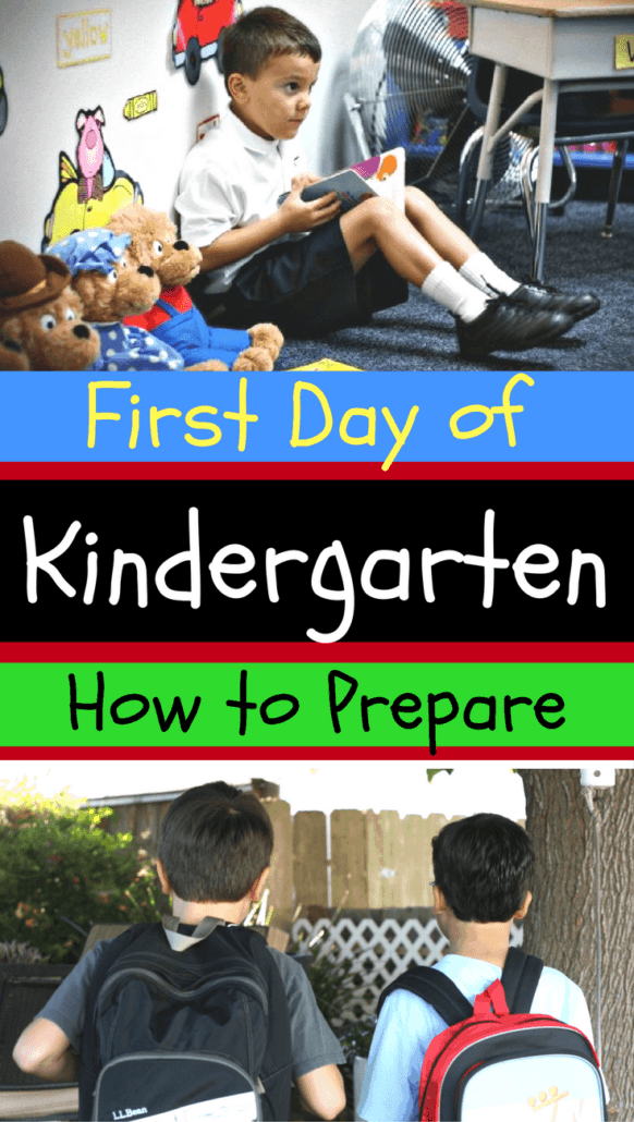 These practical back-to-school preparation tips will help ease your kinder kid into the first day of kindergarten.