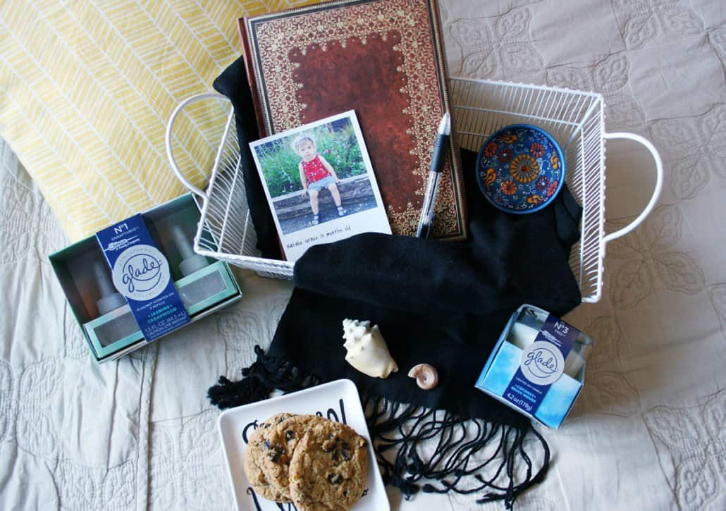 #ad Cultivate peace at home with a DIY portable home sanctuary that contains everything you need for relaxing moments. #GladeAtmosphere