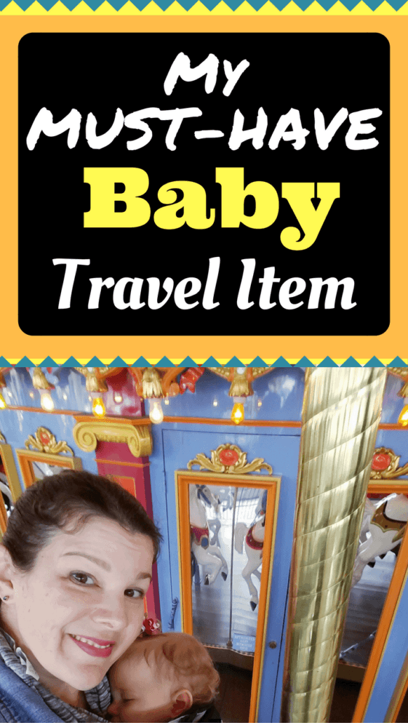 See what is my MUST HAVE baby travel item! #Ergobaby #LoveCarriesOn #ad