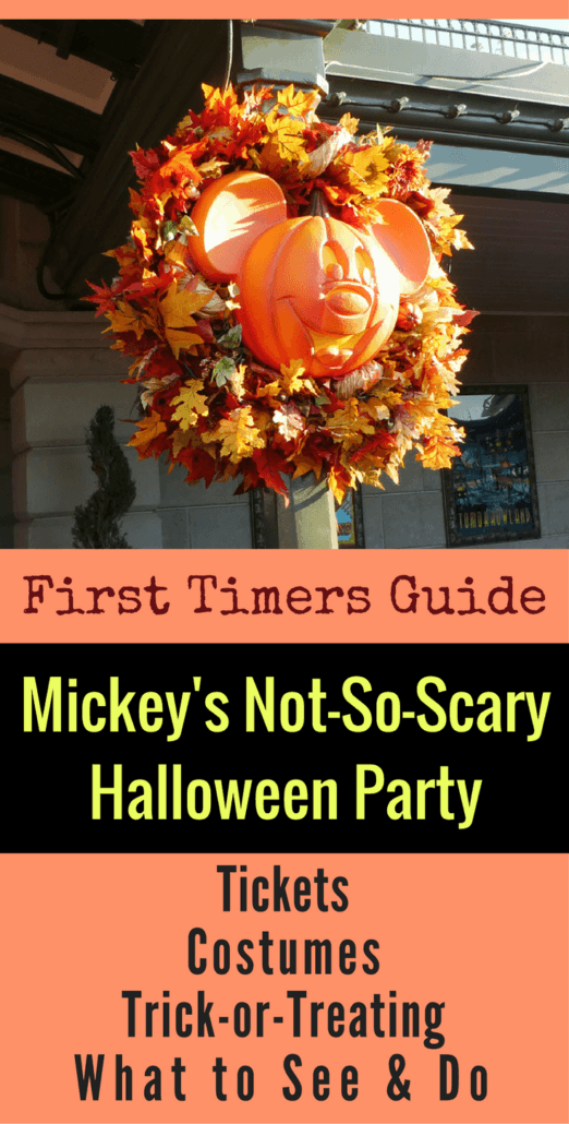 Planning to attend Mickey's Not So Scary Halloween Party at Disney World? Here's the first timers guide with 20 can't-miss tips!
