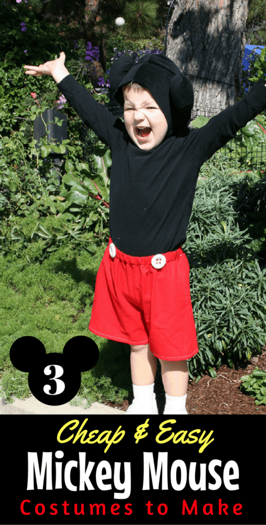 Three budget-friendly Mickey Mouse costume ideas for Halloween