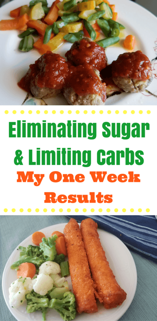 First week without sugar & limited carbs - Find out the food, plan and how much I lost after week 1! #spon #PersonalTrainerFood