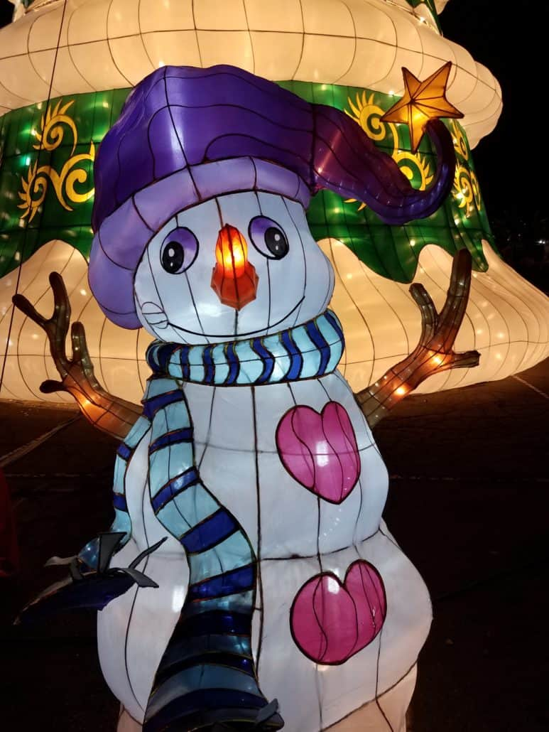 Global Winter Wonderland Review on this new Holiday Show in San Diego