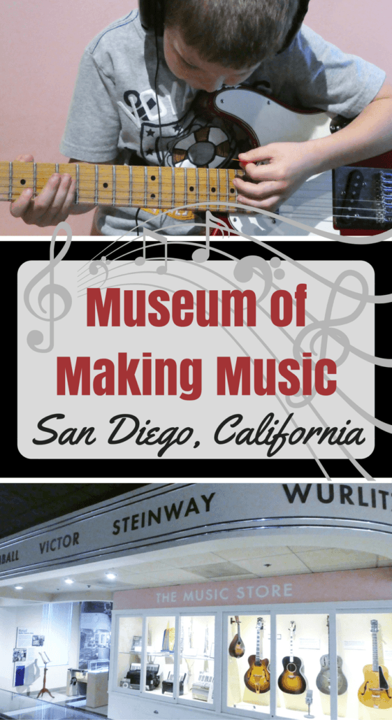 Hands-on family learning at the Museum of Making Music in Carlsbad, San Diego