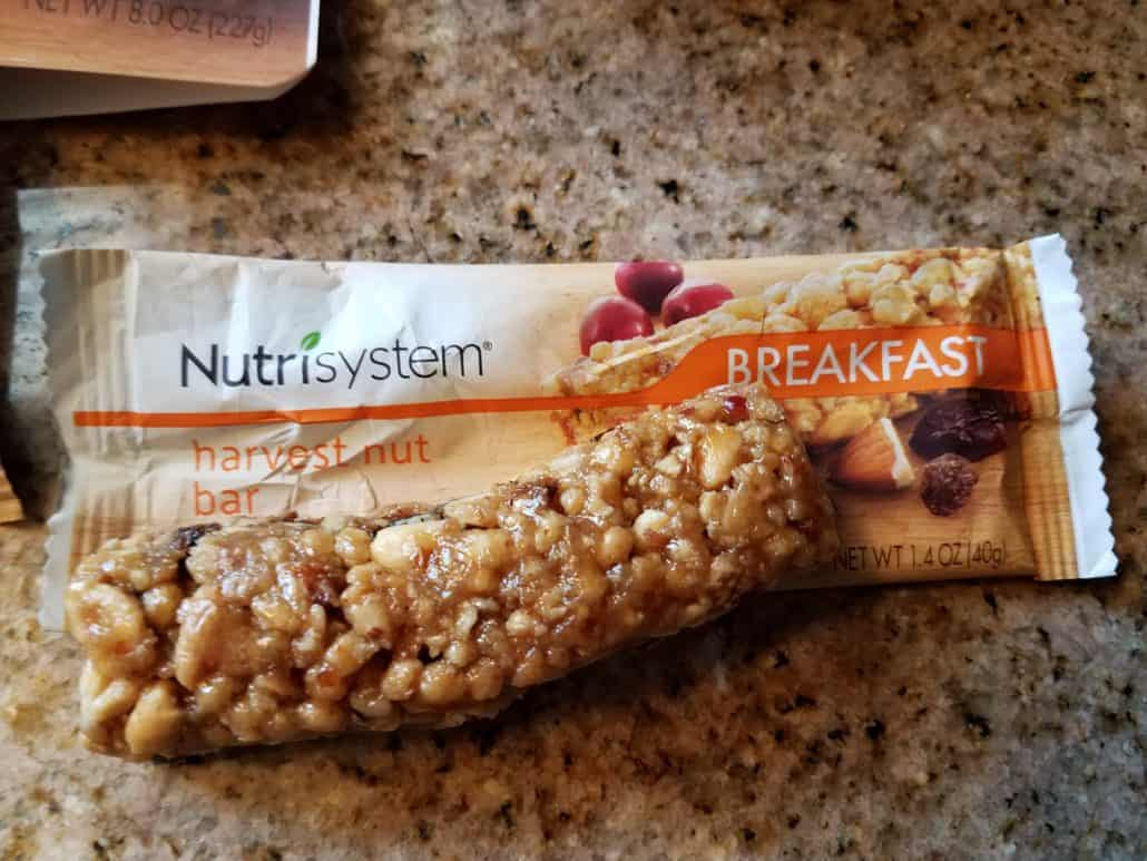 NutriSystem Breakfast Bar