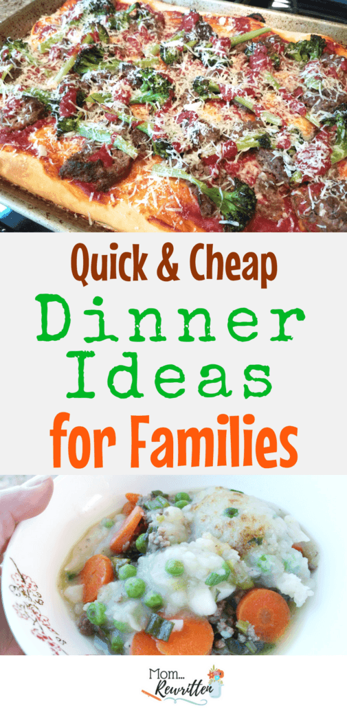 Dinner ideas for families that are quick and cheap? Find out how to get all the ingredients for delicious dinner dishes delivered to your home each week (at a fraction of the price for other meal subscription services!) #Dinnerly #QuickDinners #FamilyMeals #Dinner #Cooking #BudgetCooking
