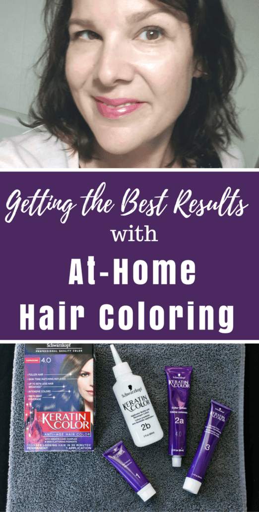 Coloring your hair at home is a great way to save time and money but how can you assure the best results? Check out these tips (along with ideas for looking your best in holiday family photos!) #HolidayHairCare #ad
