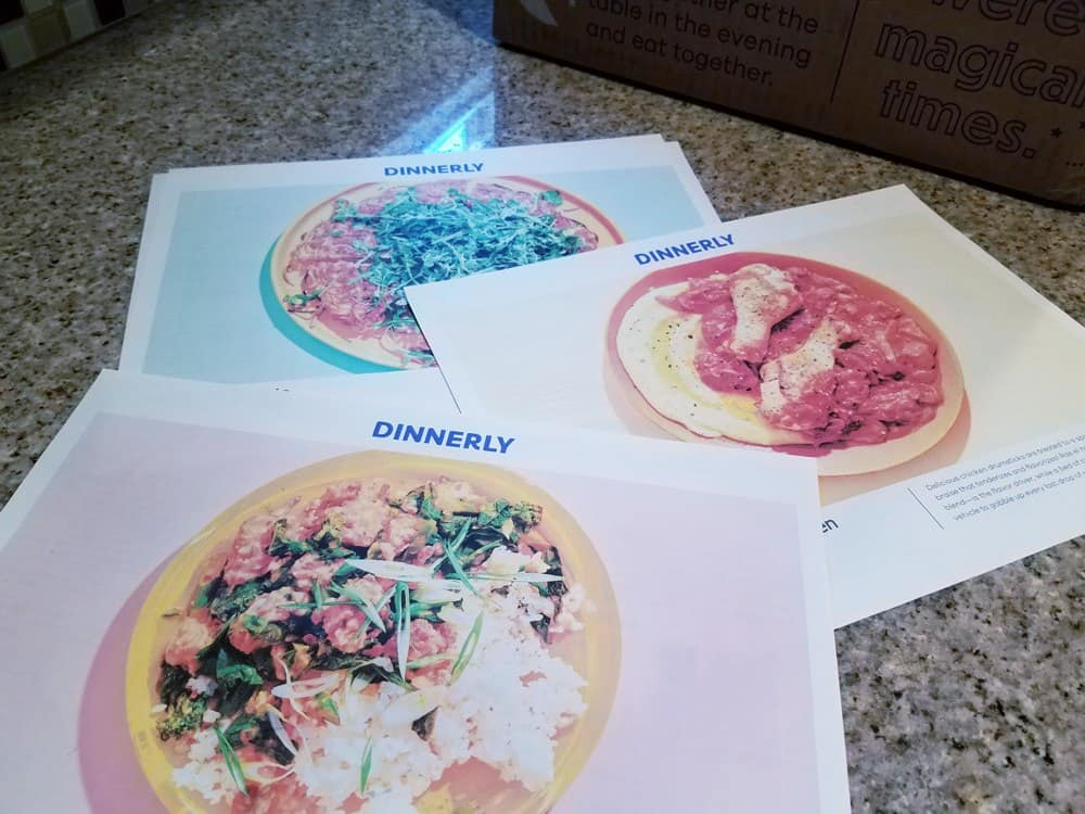 Considering a meal subscription services? My honest Dinnerly review shares if cost and time savings is worth it. Review of Dinnerly includes list of pros and cons, including taste review.
