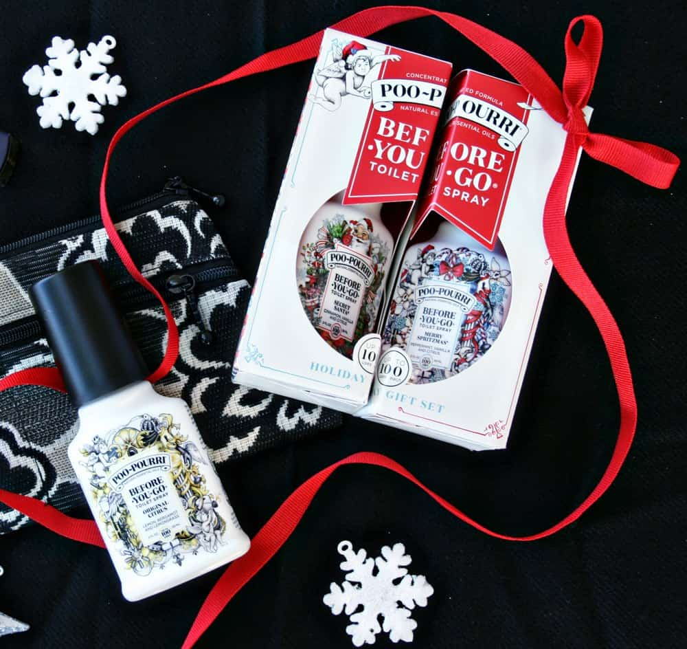 These practical tips will help Mom holiday party prep for an evening out! Ideas for time management & evening bag packing. #MerrySpritzmas #AD