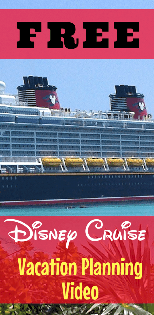 Planning a Disney cruise vacation? See how you can get your own FREE Disney cruise vacation travel planning video to find out all you need to know about your next Disney vacation.