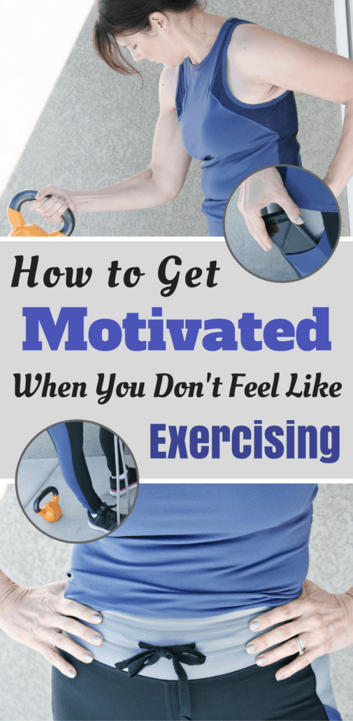 How do you stay motivated to workout when you just don't feel like exercising? I share 9 tips for staying on a routine when you feel lazy!