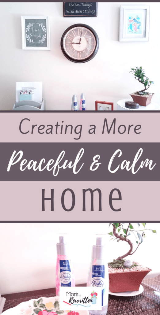 Follow this entryway tutorial to put you in the right mood the moment you walk inside the front door. Find out what to use, including fragrance, to add joy into your every day. #GladeFineFragranceMist #ad