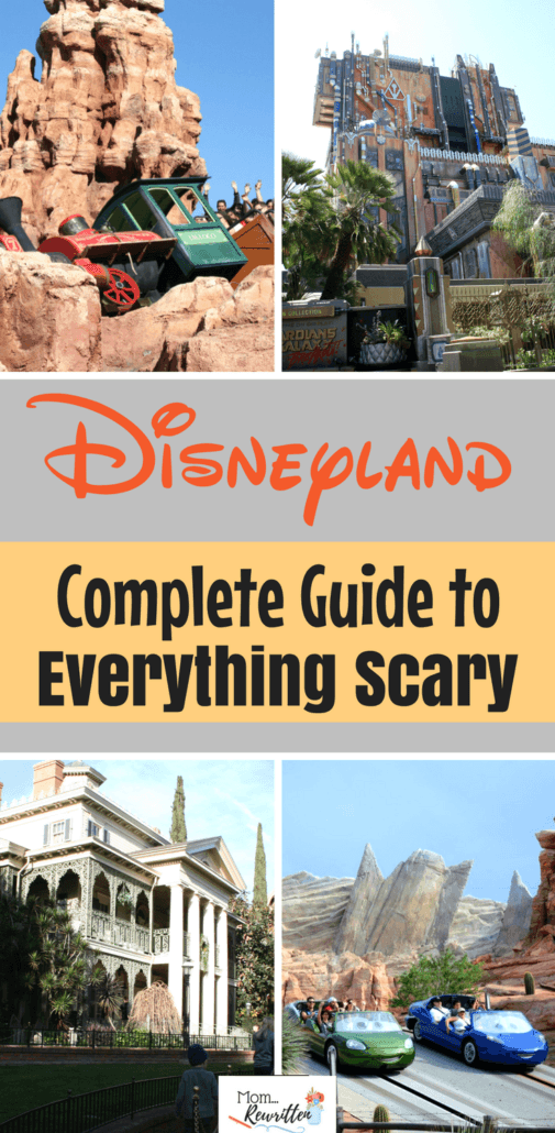 Headed to Disneyland but concerned that certain rides, shows or attractions might be too scary for your kids? If you have a kid who doesn't like fast rides, drops, spinning and frightening elements this is a must read guide with tons of helpful tips. #Disneyland