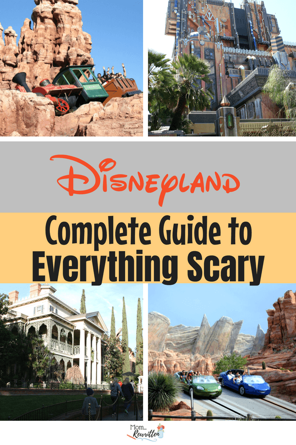 Headed to Disneyland but concerned that certain rides, shows or attractions might be too scary for your kids? If you have a kid who doesn't like fast rides, drops, spinning and frightening elements this is a must read guide with tons of helpful tips. #Disneyland #Disney #CaliforniaAdventure #FamilyTravel #TravelwithKids #California #SpecialNeeds