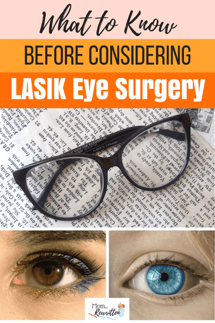 If you're considering ditching your glasses and/or contacts and thinking about LASIK eye surgery, read these 6 things to consider before planning surgery. #Lasik #EyeSurgery #Vision #Clearview