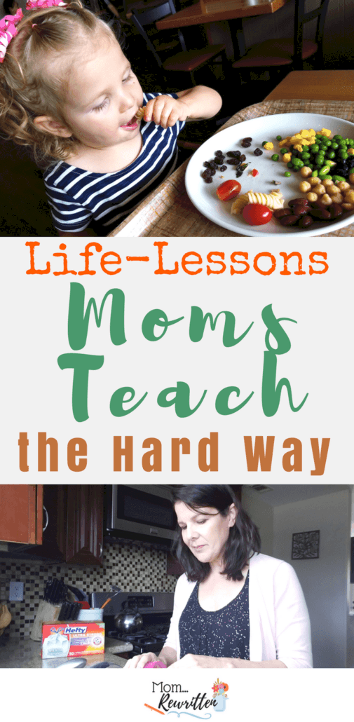 Our moms are always teaching us things, whether we want to learn them or not! Hefty® Partner Here are some life lessons my mom taught me. #MothersDay #LifeLessons