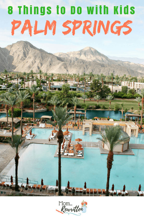 There are lots of things to families to do in Palm Springs. Find out the top 8 desert adventures including golfing, museums, and water parks. Lots of tips on where to stay and what to do in the California desert of Palm Springs with kids of all ages. #PalmSprings #VisitGreaterPS #RenIW #Desert #FamilyTravel #TravelwithKids #California