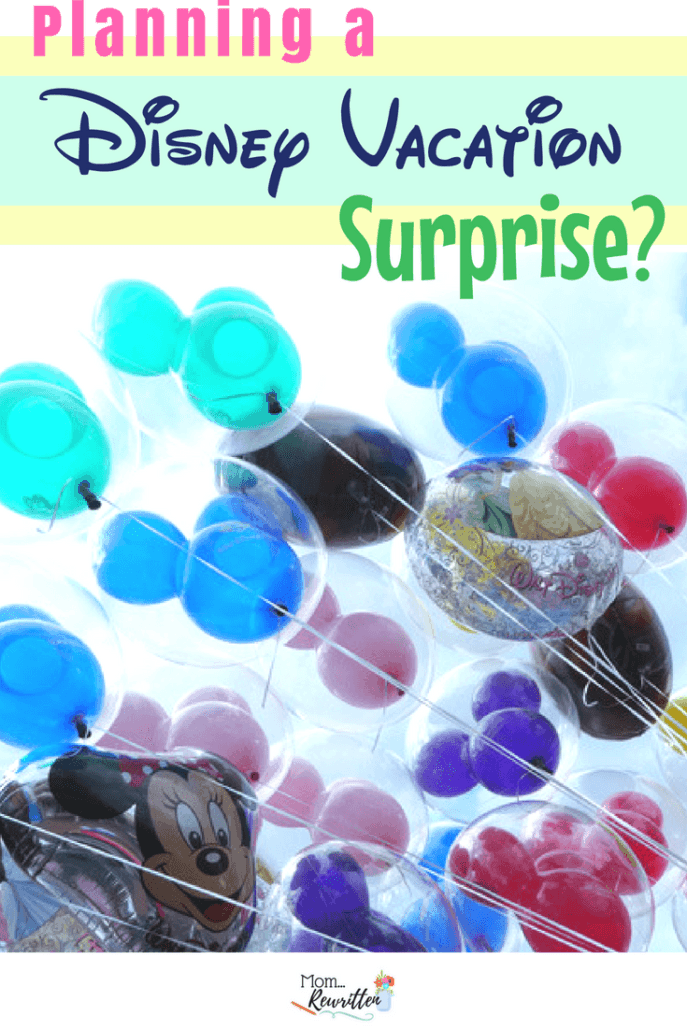 Is surprising your kids with a Disney vacation ever a good idea? These are the tips for how to plan a perfect surprise, what to do if a surprise goes wrong and 16 sweet surprises for kids! #Disney #Surprise #TravelwithKids #DisneyWorld #Disneyland #FamilyTravel #TravelPlanning #Positiveparenting