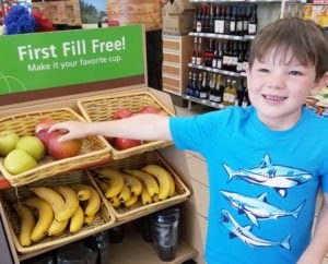 How My Family Chose Healthy Road Trip Snacks at the Convenience Store