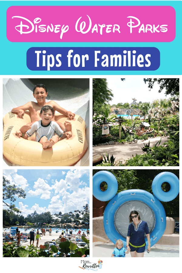 Blizzard Beach or Typhoon Lagoon are the Disney World water parks. Find out all the tips on visiting these water parks in Orlando with information on what to do, what to skip and how to have the best time with everyone in the family (including tips for toddlers) #Disney #DisneyWorld #WDW #WaterParks #BlizzardBeach #TyphoonLagoon #FamilyTravel #Florida #TravelwithKids