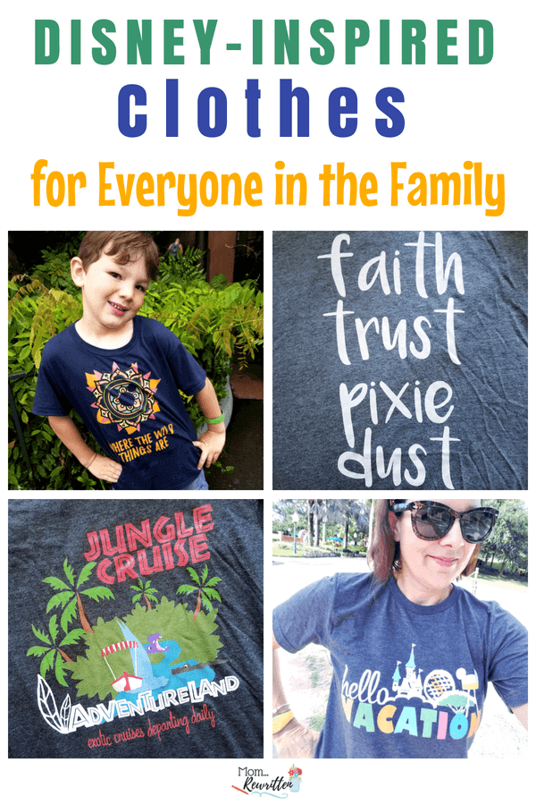 Great travel products and accessories can make your vacation so much better! Check out these family vacation must-haves (including Disney-inspired tees!) for your next trip. #Disney #Travel #TravelwithKids #FamilyTravel #Vacation #Tshirts